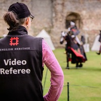 Medieval jousting to see VAR technology used for the first time