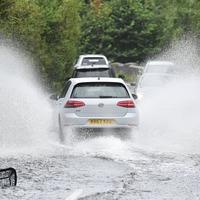 Weather warning as Britain braces for up to 40mm of rain in two hours