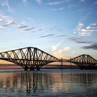 Lego enthusiast creates 4.7-metre model of Forth Bridge