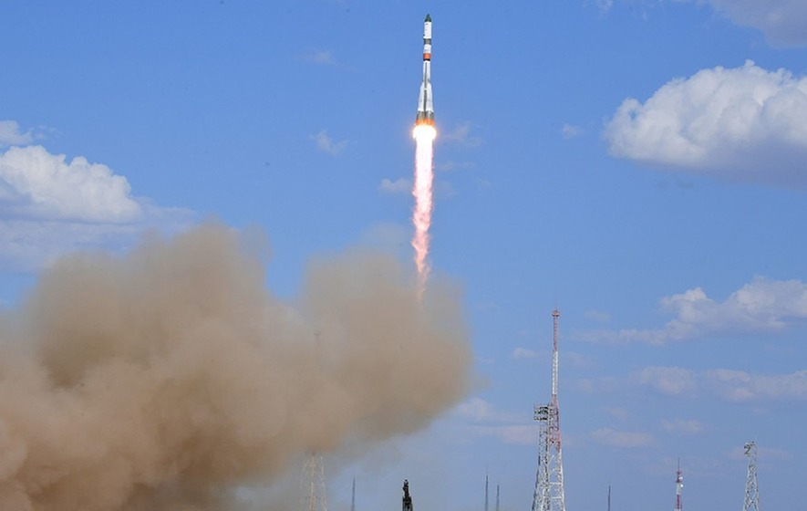 Supply ship delivers food and fuel to space station astronauts