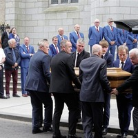 Mourners line Newry streets as businessman Brian Conlon is laid to rest