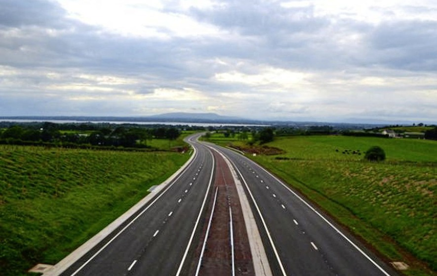 Good news for commuters as new A6 from Toome to Randalstown to open next week
