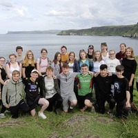 Young people from Northern Ireland and Germany come together to explore shared history of growing up in cities divided by walls