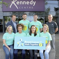 Antrim GAA to walk together in Belfast to battle bowel cancer