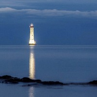 Famous lighthouse on Carlingford Lough illuminated in memory of people who died there