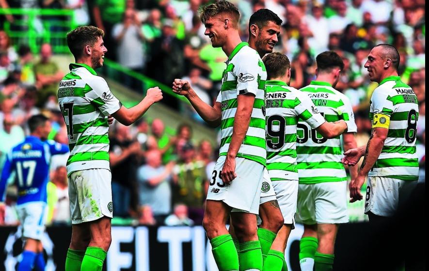 Celtic sink St Johnstone with seven-goal salvo - The Irish News