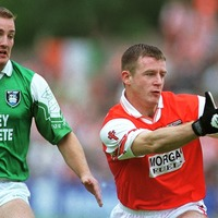 Back in the Day - Armagh's Justin McNulty in hospital for knee scan - The Irish News, Aug 5 1999