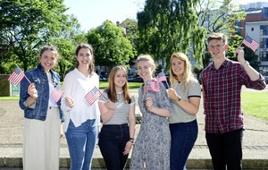 Students secure place on US scholarship programme