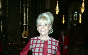 David Walliams wishes 'first crush' Dame Barbara Windsor a happy birthday