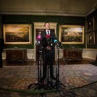 Leo Varadkar: We have portraits of British monarchs and we haven't taken them down