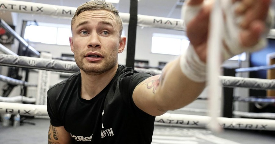 Three-weight world champion status the best way for Carl Frampton to