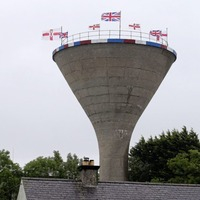 Union flags removed from Rathfriland water tower