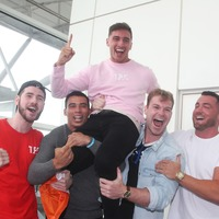 Greg O'Shea lands home in Ireland after Love Island win