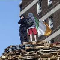 Bonfire siege youth 'has no regrets'