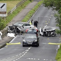 Man aged in his sixties dies in Co Derry road crash
