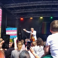 Sir Ian McKellen leads Perthshire Pride parade