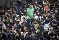 Hong Kong protesters severely cripple operations at airport for second day
