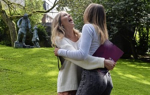 100 per cent achieve 'good' A-levels at Catholic grammar school