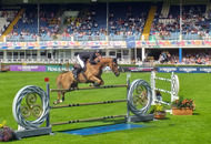 Dublin Horse Show the place to see sea-urchin shaped hats and showjumping