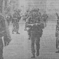 Powerful Irish News images capture week the Troubles began