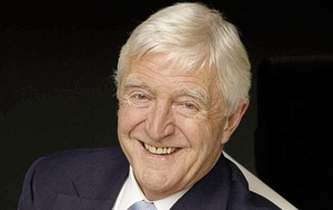 Arts Q&A: Bangor-bound Michael Parkinson on The Beatles, George Best and Bible reading