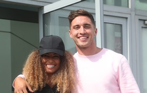Amber Gill and Greg O'Shea having 'too much fun' during reunion