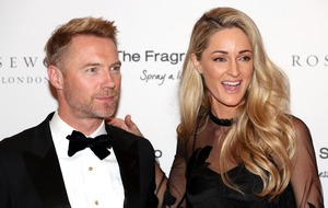 Ronan Keating and wife Storm share romantic messages on anniversary