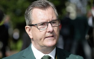 Sir Jeffrey Donaldson dismisses notion that DUP's influence on Government is 'waning'