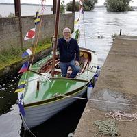 Unique boat launch on Lough Neagh