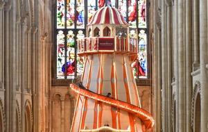 Norwich Cathedral's helter skelter attracted 10,000 riders
