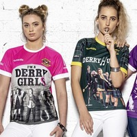 Derry Girls GAA-style jerseys launched