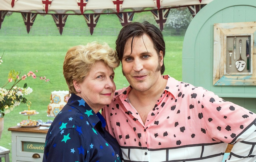 We've relaxed into Bake Off now - Noel Fielding and Sandi Toksvig