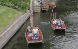 Uber Boat offers punting service in Cambridge over bank holiday