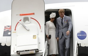 Carbon offsetting 'no solution' over Harry and Meghan's private jet journey