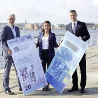 Derry Girls star helps launch new Ulster Bank £20 note
