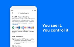 Facebook users given control over data gathered from other online activities