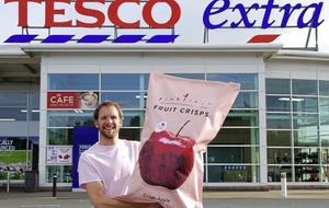Belfast fruit and vegetable crisp company strikes deal with Tesco Ireland