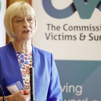 Victims' Commissioner Judith Thompson said she will serve another term