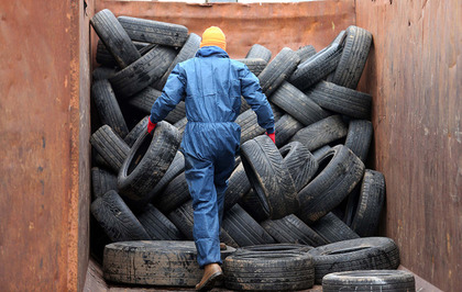 £12,000 cost to ratepayers for one day's work removing bonfire tyres