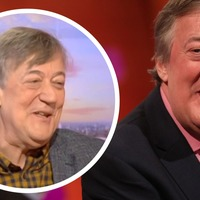 Stephen Fry discusses drastic weight loss