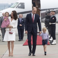 Cambridges take economy flight to Scotland amid Sussexes' private jet row