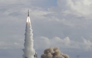 Last-of-its-kind rocket puts GPS satellite in orbit