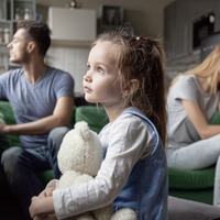 How can parents protect their children during divorce?
