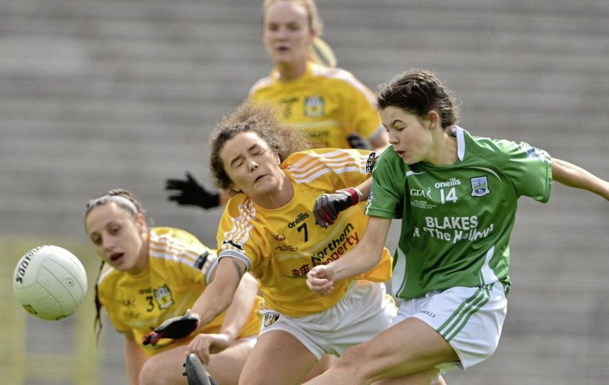Antrim and Fermanagh ladies footballers aiming for All-Ireland final berths