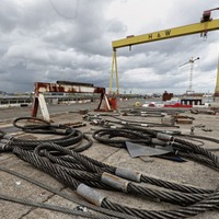 New contract could give 5 years work to under-threat Harland and Wolff shipyard