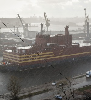 Russia's floating nuclear power plant begins journey to destination