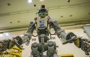 Russian capsule carrying humanoid robot fails space station docking
