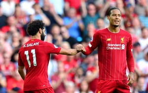 Virgil van Dijk's 50-game dribbling record ended during win against Arsenal