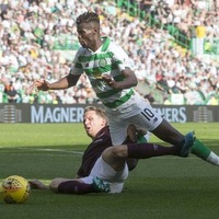 'New' Bhoy Bayo at the double as Celtic beat Hearts