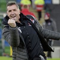 Larne 'in it to win it' says Crusaders boss Stephen Baxter